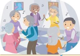 ชวนผู้สูงอายุผ่อนคลายความเครียด